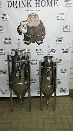 Цкт цилиндроконический танк 65 литров, фото 2