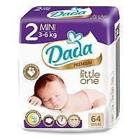 Подгузники Dada Premium Little one 2 MINI - 64 шт. / 3-6 кг