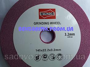 Заточной круг Winzor Canada/145×22.2×3.2mm не палит цепи 100%