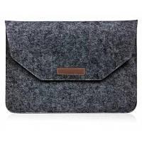 Защитный чехол сумка для 12.0-дюймового планшета / ноутбука Перл Темно-серый