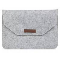 Защитный чехол сумка для 12.0-дюймового планшета / ноутбука светло-серый