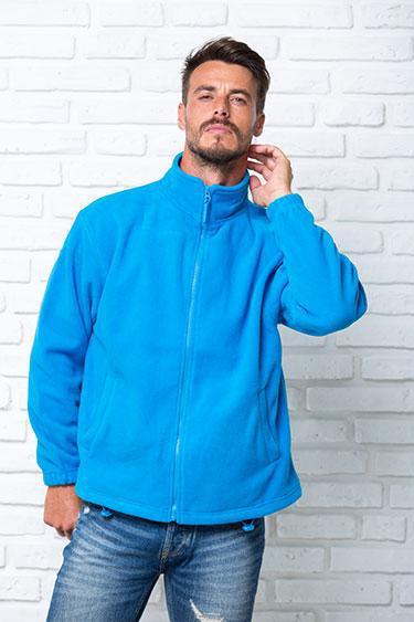 Флисовая кофта мужская JHK (Испания) одежда для спорта разные цвета и размеры