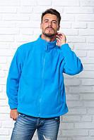 Флисовая кофта  мужская, JHK (Испания) одежда для спорта, выбор цвета, XS - 3XL