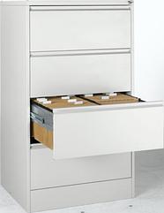 Шкаф для подвесных файлов двурядный Германия