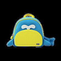 Рюкзак Upixel Blue Whale - Голубо-желтый