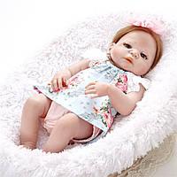 Силиконовая Коллекционная Кукла Реборн Reborn Девочка ( Виниловая Кукла ) Арт.1407, фото 1