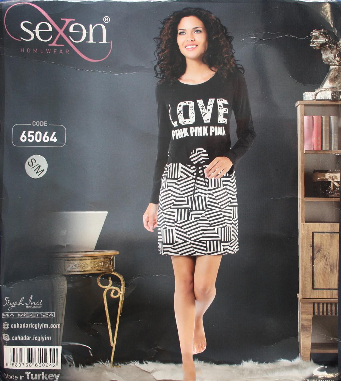 Женская ночная рубашка SEXEN 65064