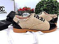 Стильные женские туфли Chanel