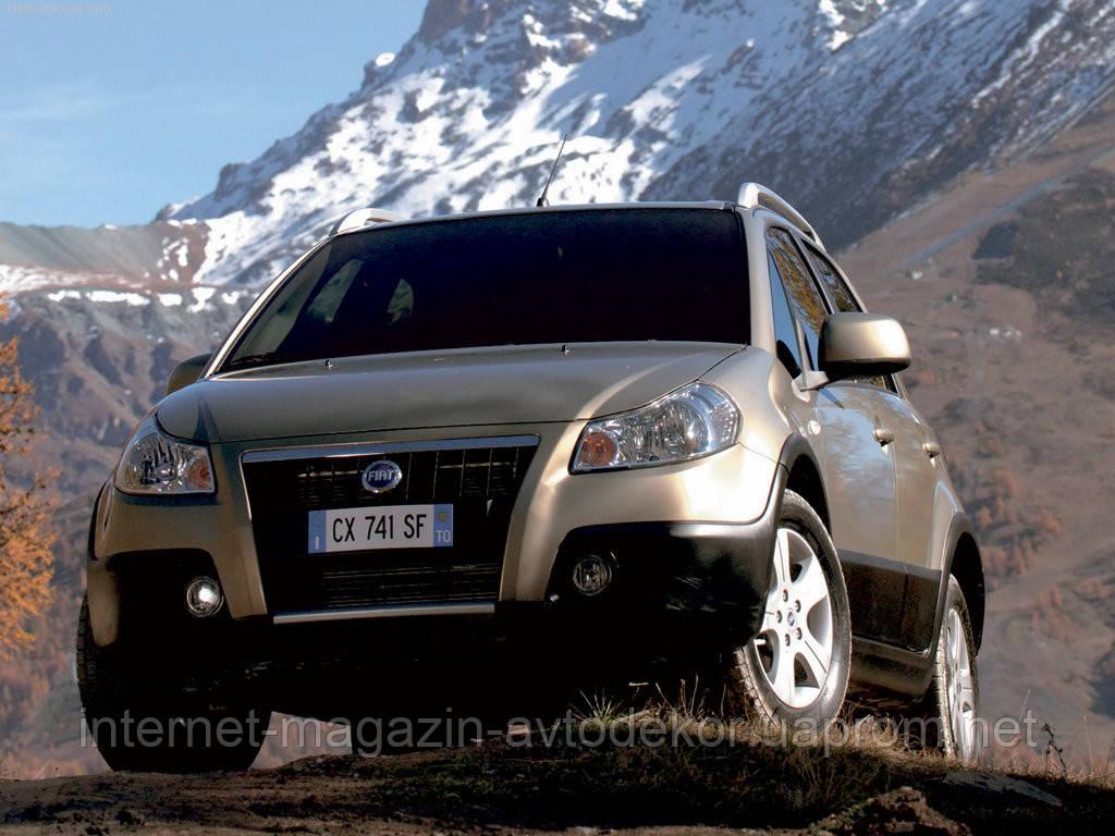 Брызговики модельные Fiat Sedici (Лада Локер) 2006-