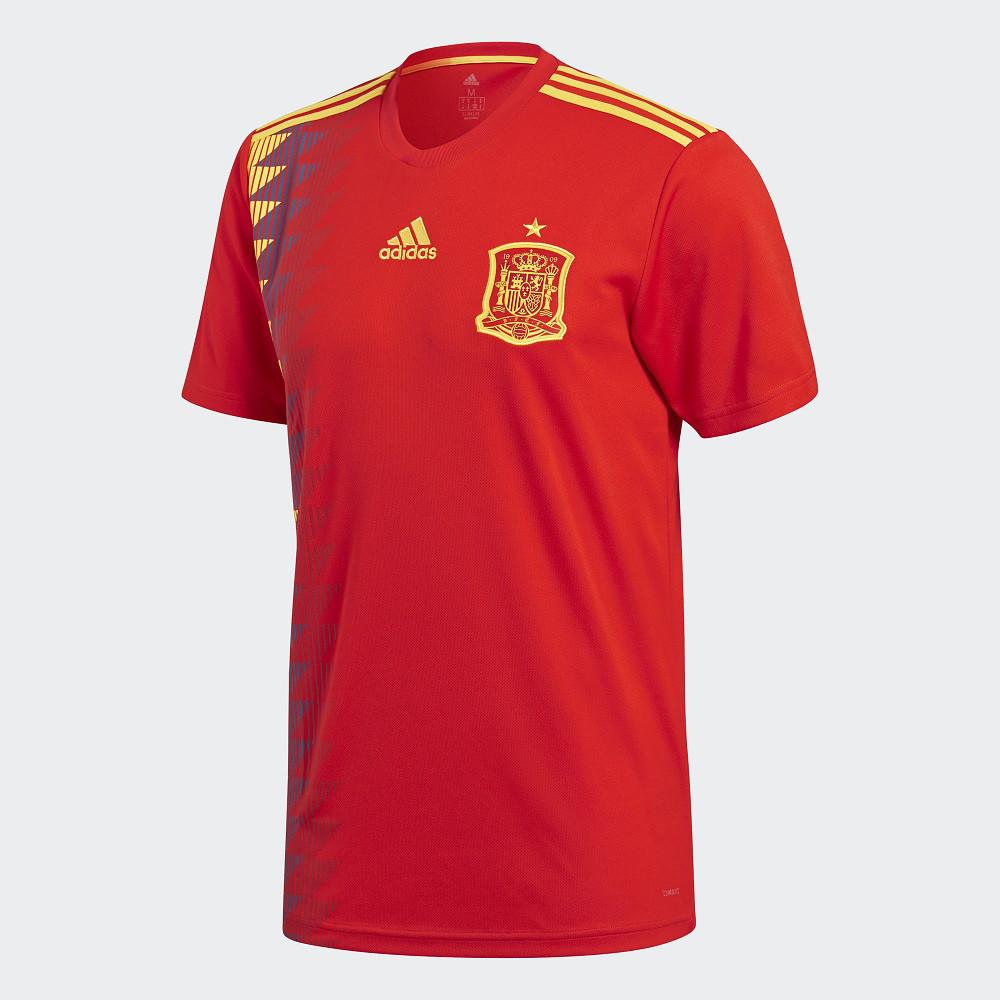 64433508fe1f Футбольная форма сборной Испании ЧМ 2018 (основная) купить в ...