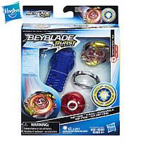 Бейблэйд Вибух Волчок Спрайзен со световыми эффектами и пусковым механизмом Beyblade SPRYZEN S2