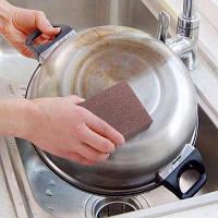 Инструмент для чистки кухонной посуды Emery Sponge Brush L 4шт
