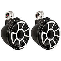 Wet Sounds Rev 10 Wakeboard Tower Speakers W/Swivel Clamp