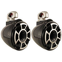 Wet Sounds Rev 8 Wakeboard Tower Speakers W/Swivel Clamp