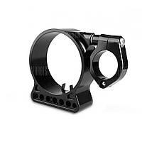 Боковой кронштейн инструмента бокового крепления для мотоциклетного спидометра для кроссовые мотоциклы Чёрный
