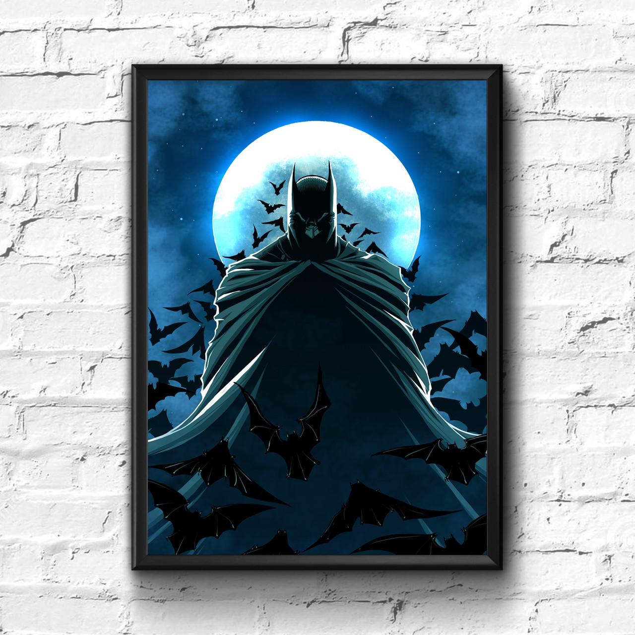 Постер с рамкой Batman