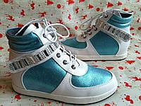 Детские ботинки, сникерсы, для девочки , размер 33-37