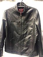 Куртки мужские оптом купить со склада в Одессе 7 км - кожзам, (48-60, норма)