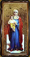 Икона Пресвятой Богородицы 112х57 или 110х80см