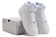 Nike Air Force High White. Белые кроссовки. Интернет магазин кроссовок. Спортивная обувь