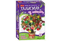 """Талисман из паеток """"Дерево счастья"""", в кор. 33*24*5см, произ-во Украина, Ранок(15100053Р)"""