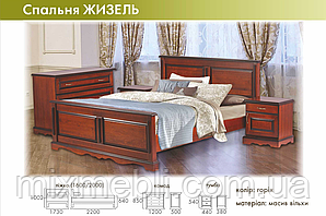 Кровать Жизель 160*200 RoomerIn
