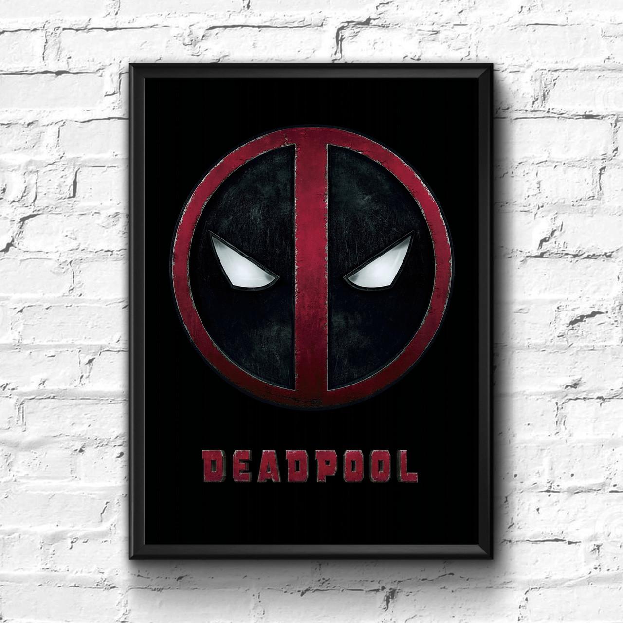 Постер с рамкой Deadpool