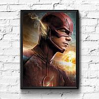Постер с рамкой Flash