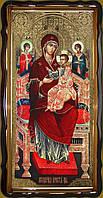 Икона Божьей Матери «Всецарица» 112х57 или 110х80см