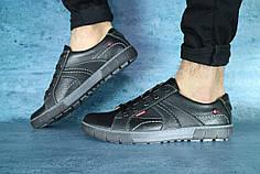 Мужские демисезонные туфли черные
