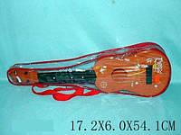 Гитара струнная, в чехле 54х18 /48-2/(130A3)