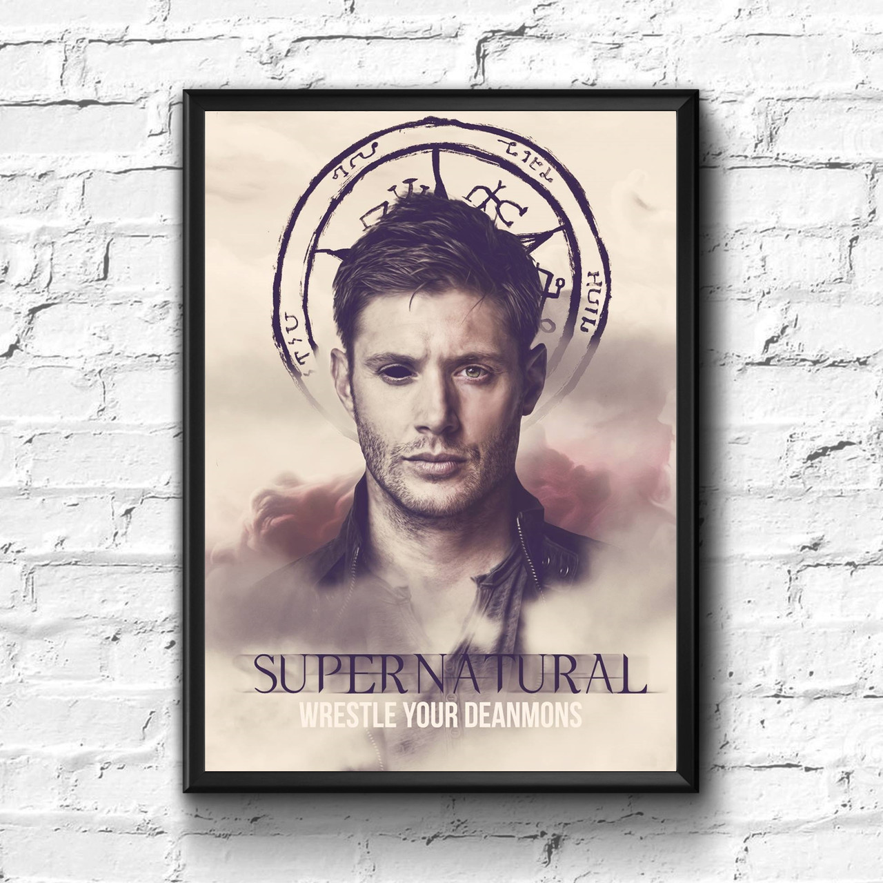 Постер с рамкой Сверхъестественное