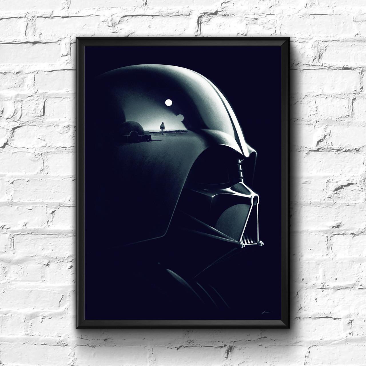 Постер с рамкой Star Wars #1