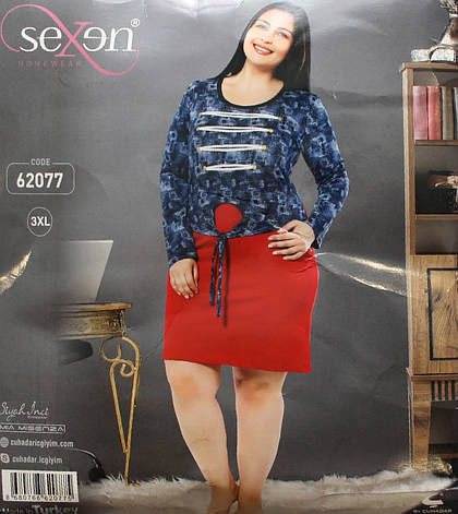 Ночная рубашка SEXEN (Батал) 62077, фото 2
