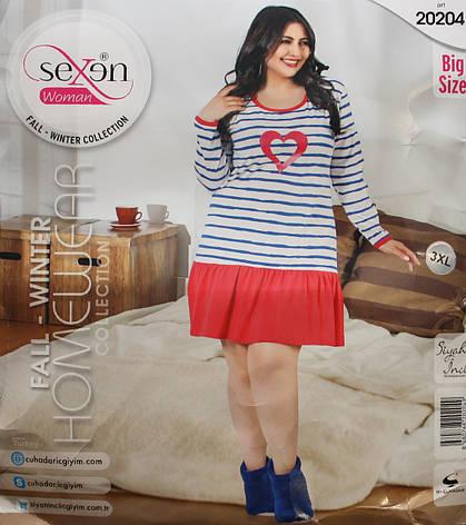 Ночная рубашка SEXEN (Батал) 20204, фото 2