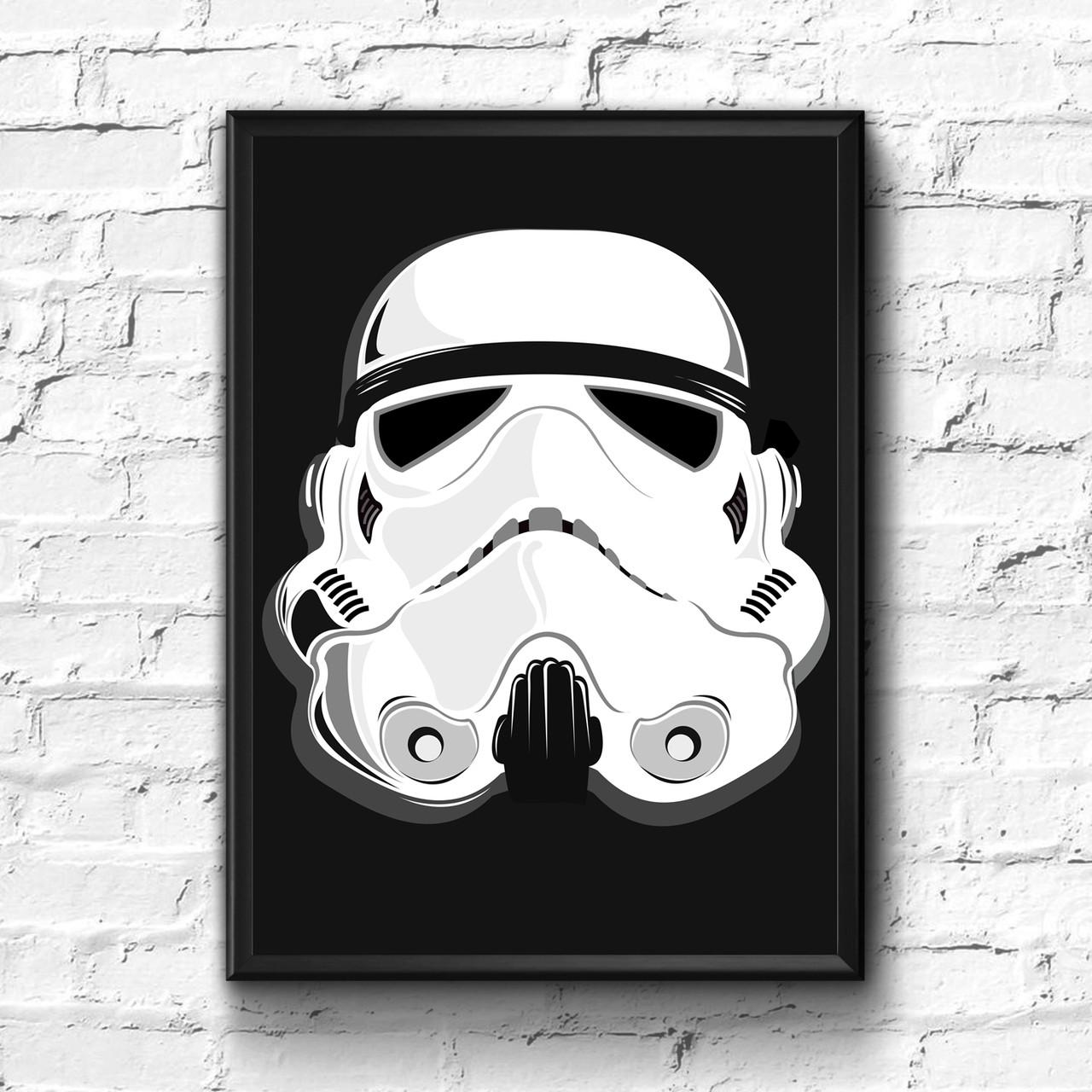 Постер с рамкой Star Wars #3