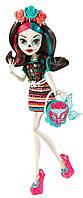 Скелита Я люблю аксессуары (Monster Scaritage Skelita Calaveras Doll and Fashion Set)