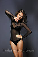 Женский боди-стринг (сетка) с длинным рукавом ТМ  Anabel Arto