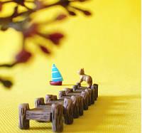 Мостик Мини Микро декор для Муравьиной Фермы ( малый декор, арт декор, декор для вазонов)