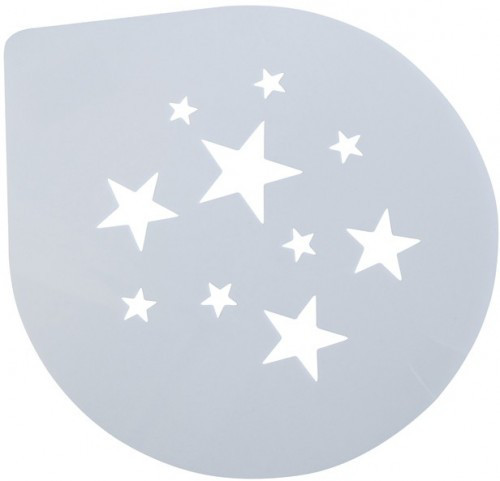 Трафарет для Торта Звезды 250мм (шт)
