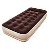 Надувная кровать матрас 67572,размер 191х97х38см со встроенным насосом на батарейках