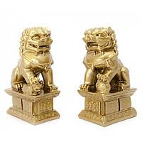 Собаки Фу пара каменная крошка