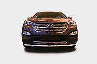 Защита переднего бампера (кенгурятник) Hyundai Santa Fe (2013-)