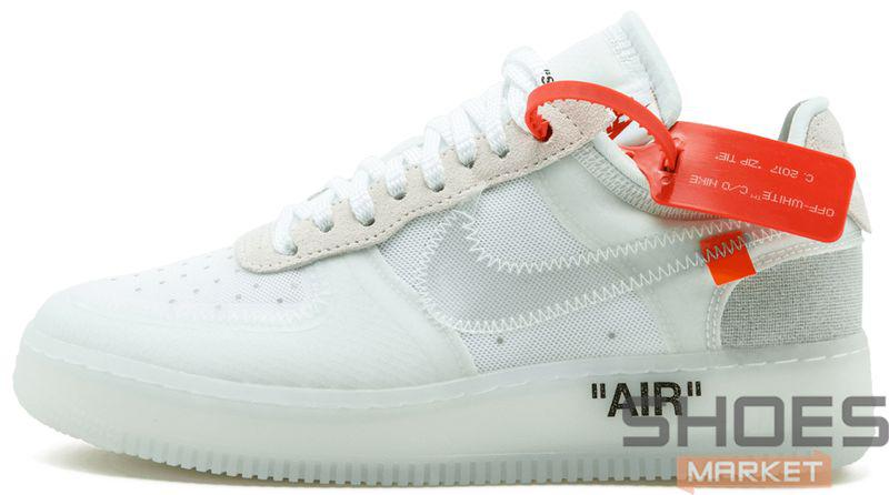Мужские Кроссовки Nike X Off-White Air Force 1 Low Ice — в Категории ... 5f83be9c80332
