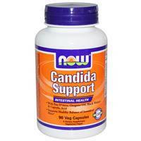 Средство от молочницы и грибковых инфекций Now Foods, Candida Support, 90 капсул