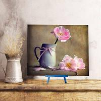 Кружка цветок DIY смола Алмаз Живопись картона Нарциссово-жёлтый