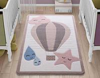 Коврик в детскую комнату 100х150 CloudyPink Confetti