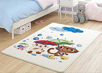 Коврик в детскую комнату 100х150 Rainy Day White Confetti