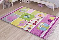 Коврик в детскую 100х150 Confetti Patchwork Pink