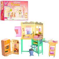 Мебель 21016 (36шт) кухня, мойка, плита, холодильник, продукты, посуда, в кор-ке, 31,5-21-6см (Китай)